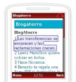 BlogAhorro móvil