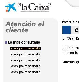 Loren Ipsum Asertatis - La Caixa