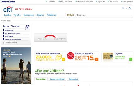 Citibank - Página nueva
