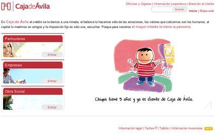 Caja de Ávila - Nueva web