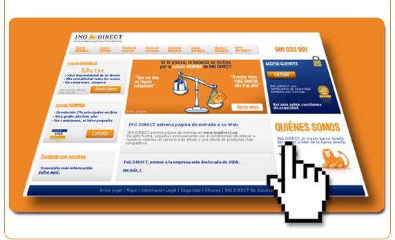 Nueva web de ING Direct