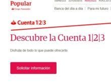 Cuenta 123 Banco Popular