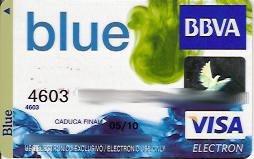 Tarjeta Blue