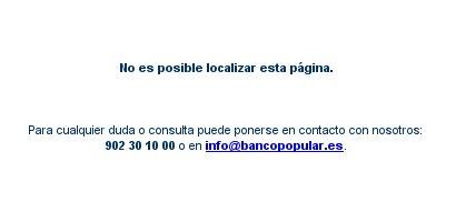 Banco Popular down