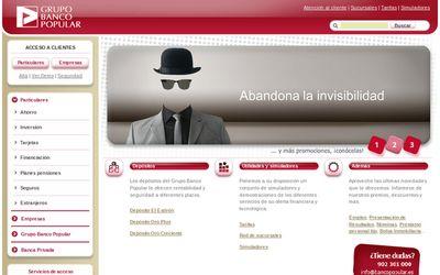 Banco Popular - Web Nueva
