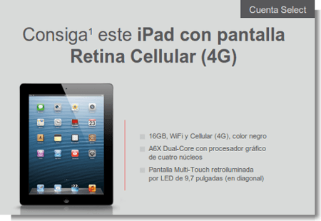 Apple iPad Banco Santander
