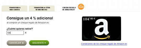 Cheque Regalo Amazon en Coinc